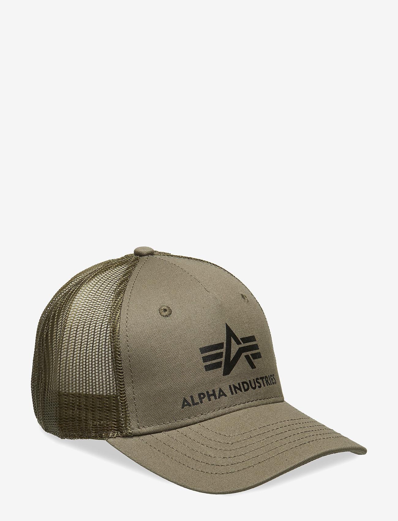 Alpha Industries - Basic Trucker Cap - kasketter - dark green - 0