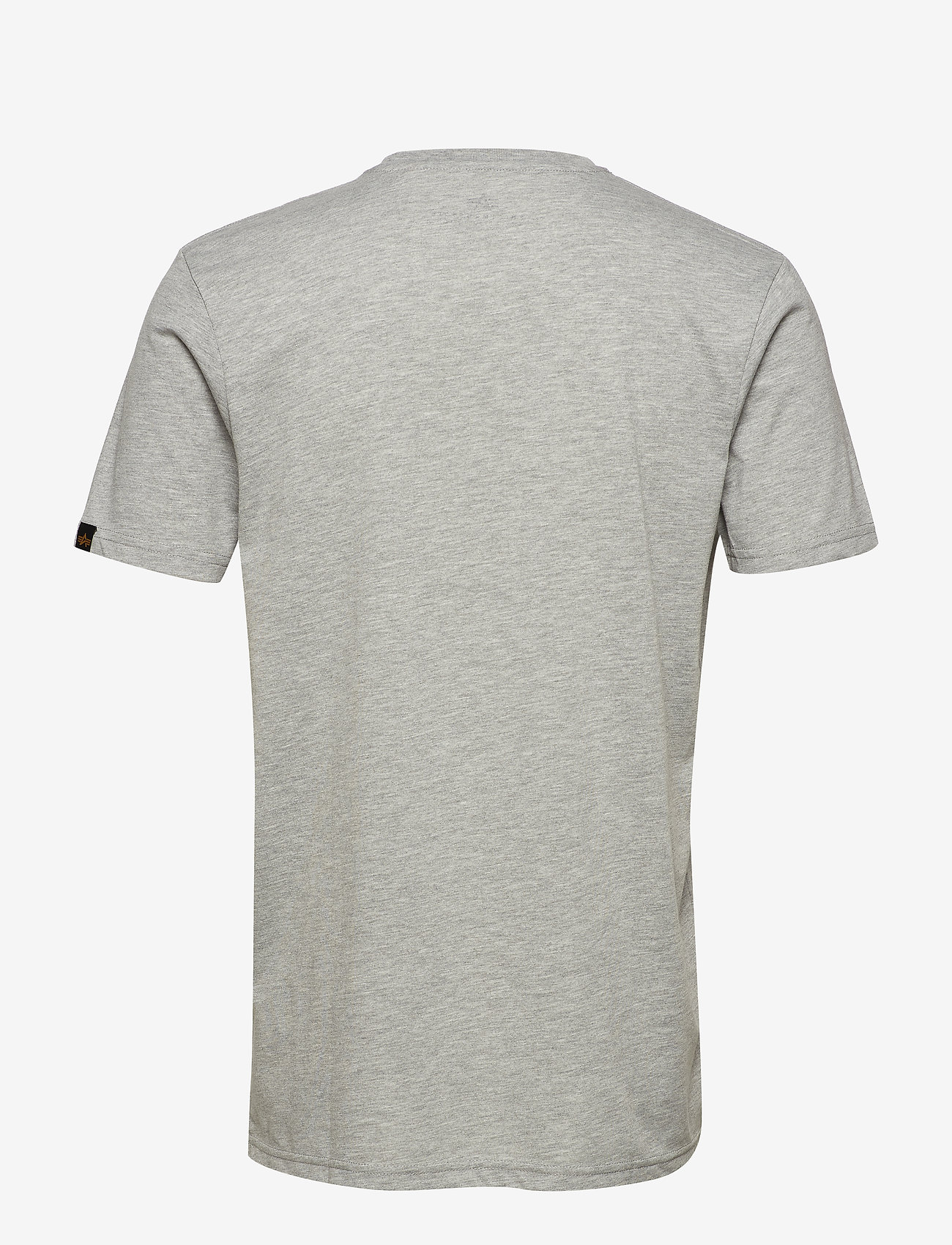 Alpha Industries - Basic T Small Logo - perus t-paidat - grey heather - 1