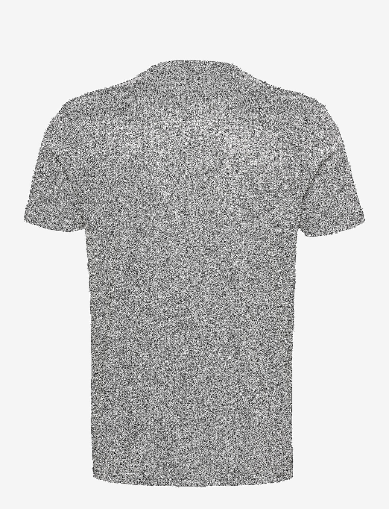 Alpha Industries - Basic T Small Logo - perus t-paidat - greyheather/white - 1