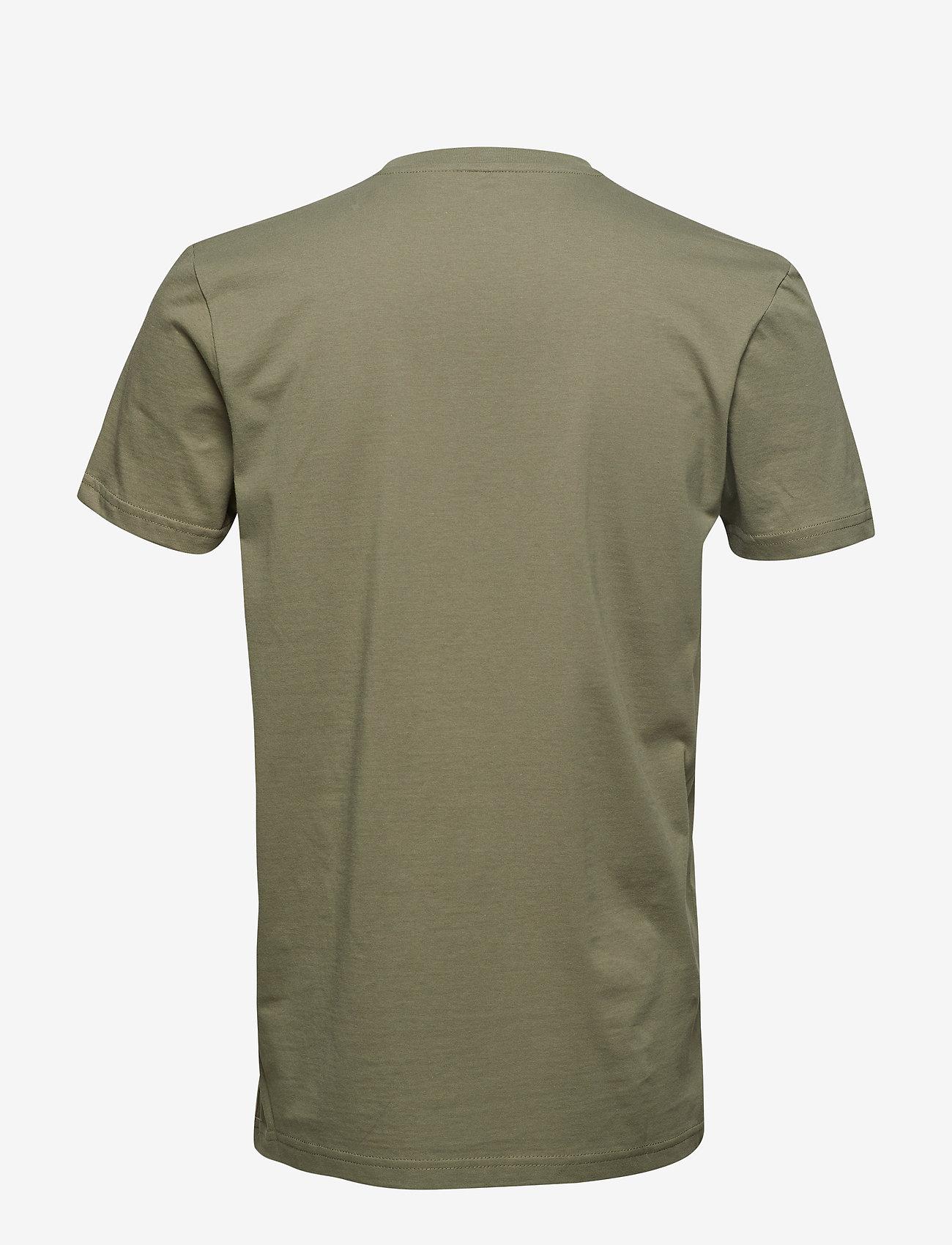 Alpha Industries Basic T Small Logo - T-skjorter OLIVE - Menn Klær