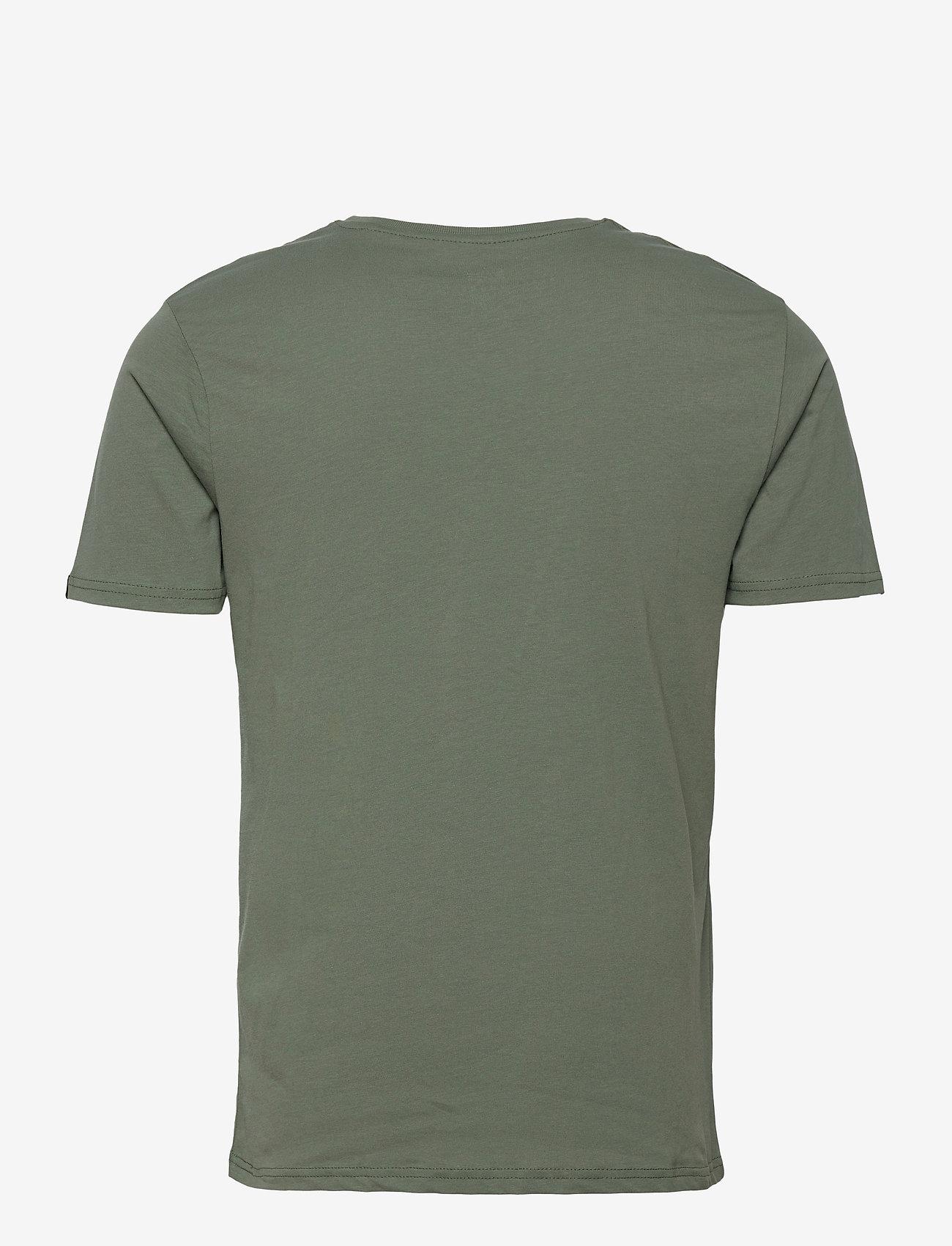 Alpha Industries - Basic T Small Logo - perus t-paidat - vintage green - 1