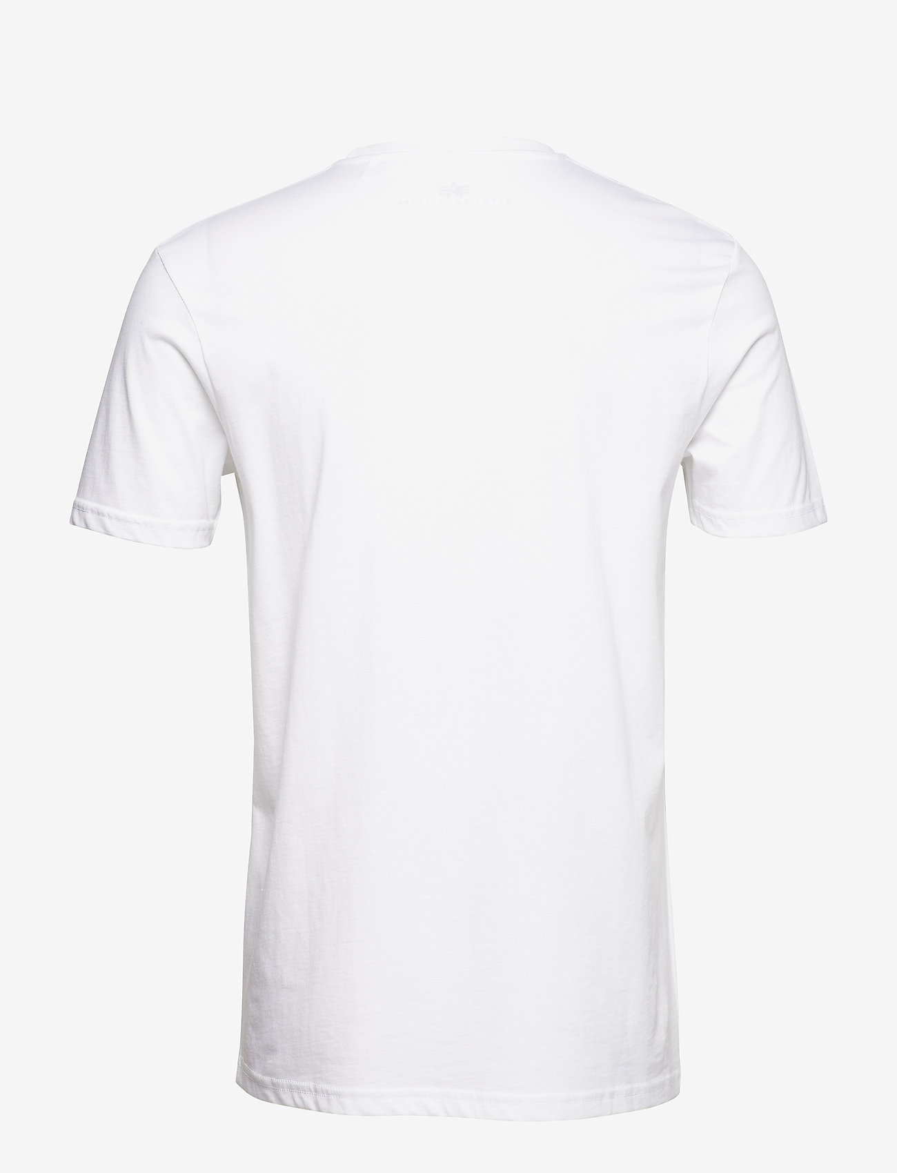 Alpha Industries - Basic T Small Logo - perus t-paidat - white - 1