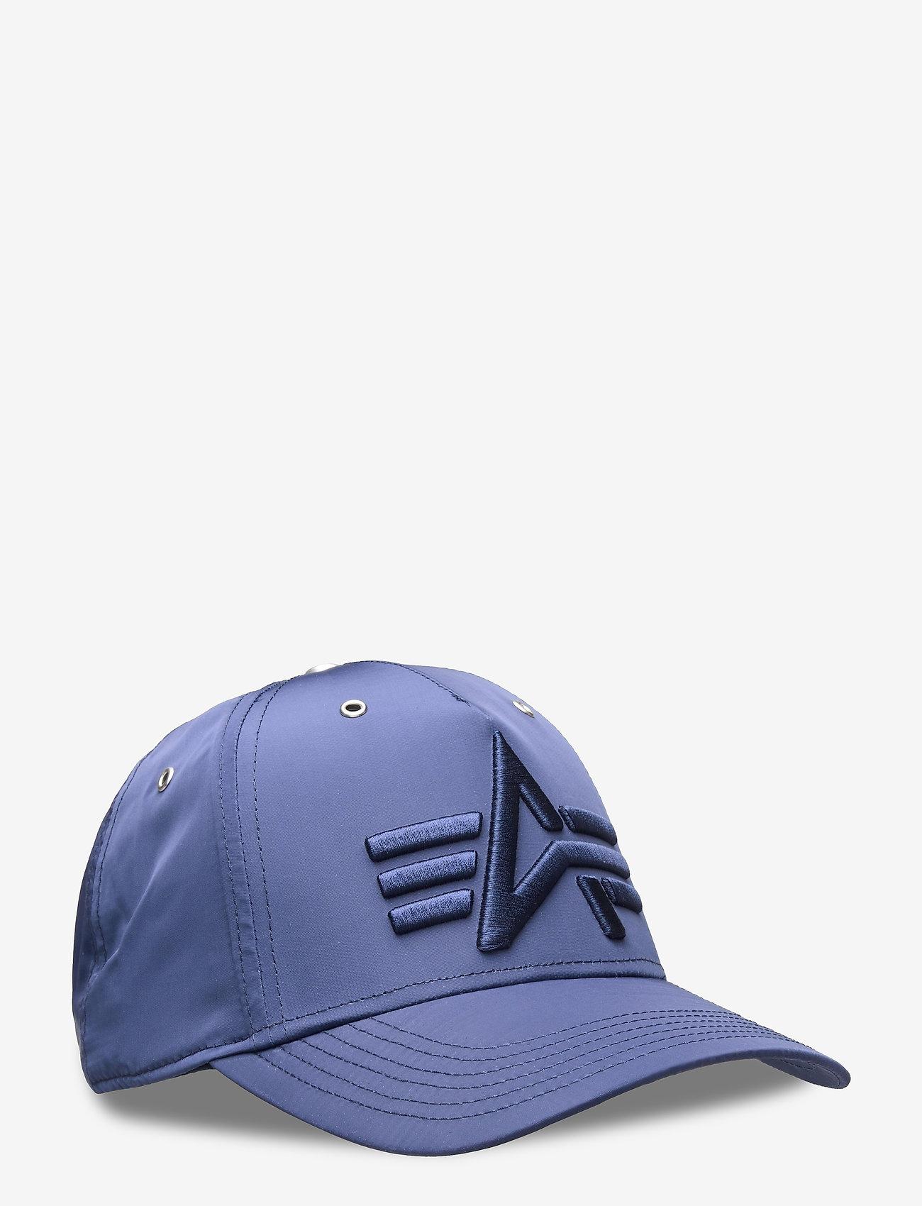 Alpha Industries - Flight Cap - lakit - rep.blue - 0