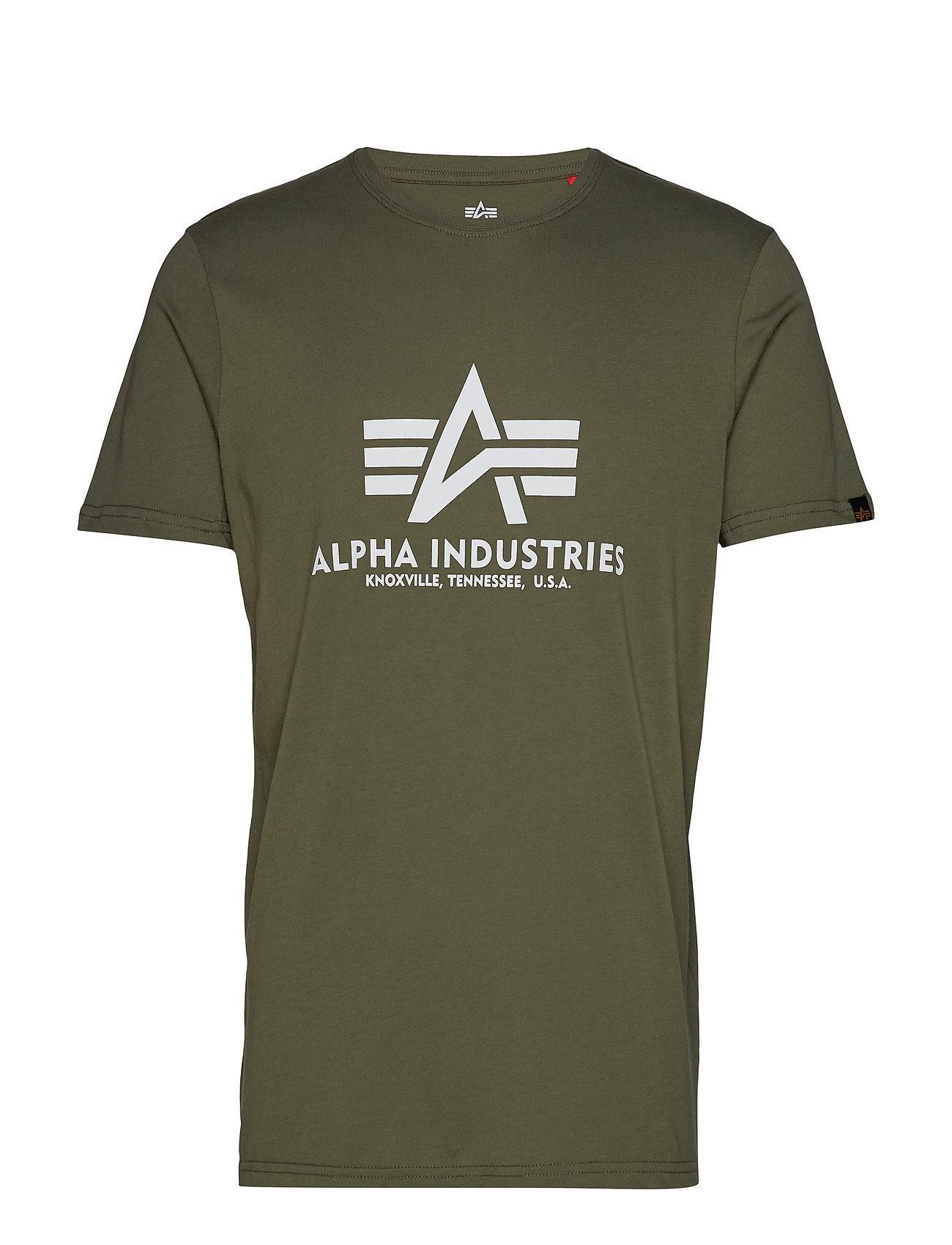 Alpha Industries Basic T-Shirt - DARK OLIVE