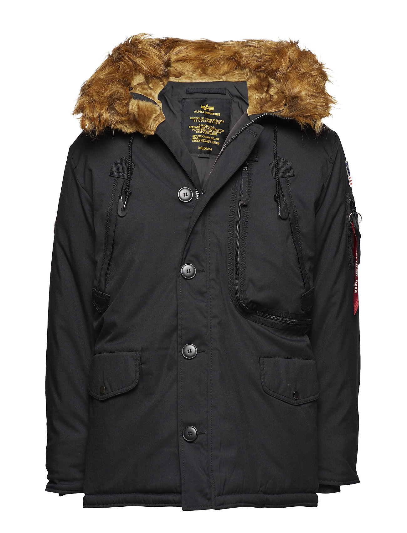 Alpha Industries Polar Jacket - BLACK