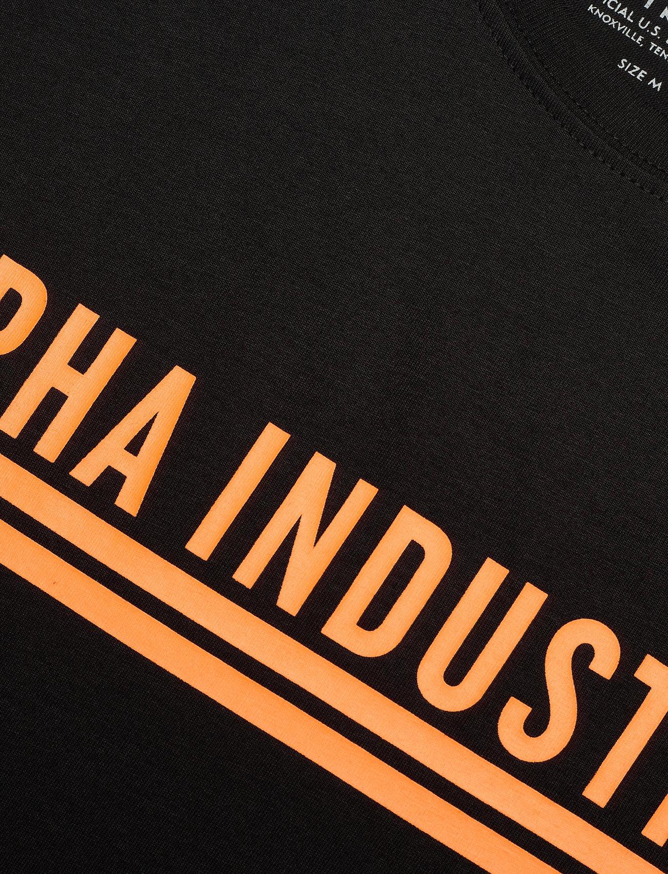 Alpha Industries Alpha Industries T - T-skjorter BLACK - Menn Klær