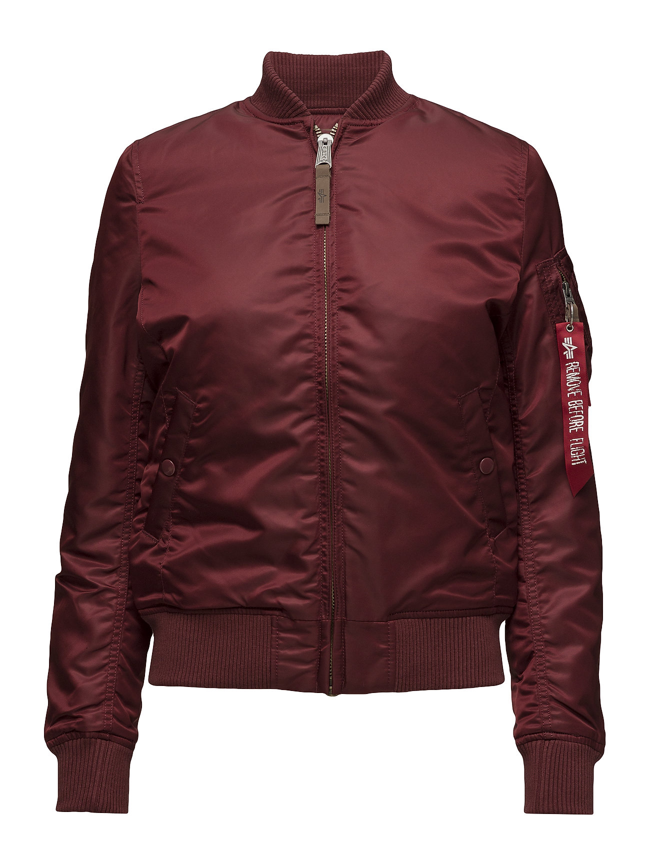 6453e729 Rød Alpha Industries Ma-1 Vf 59 Wmn bomber jakker for dame - Pashion.dk