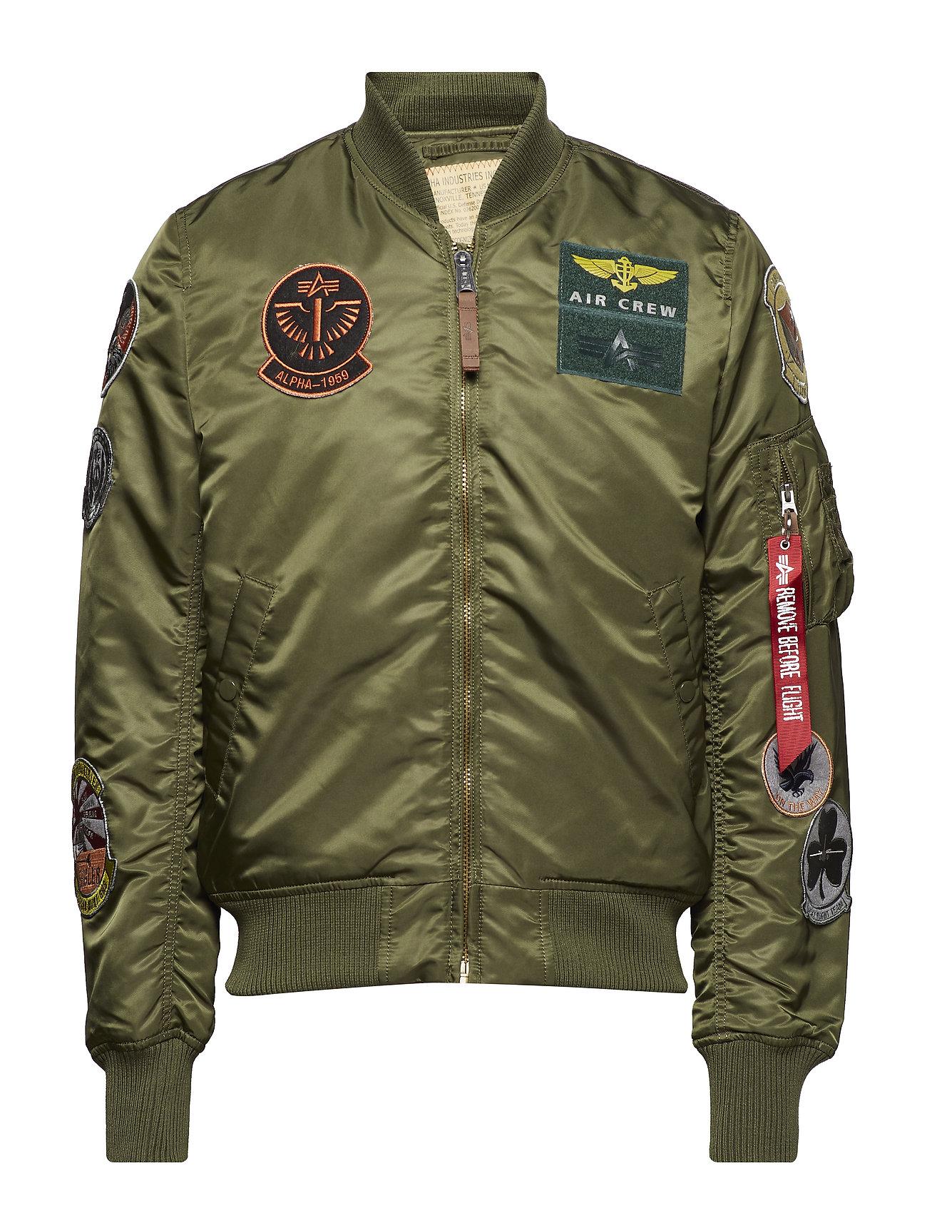 MA 1 pilotjakke i grøn