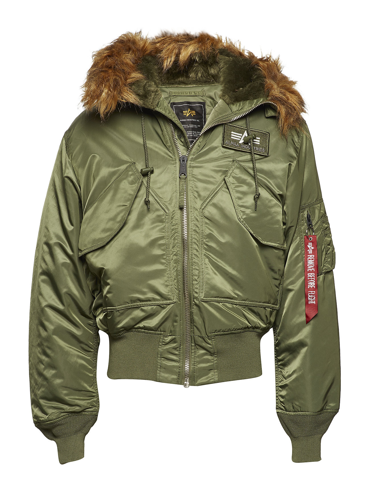 Alpha Industries 45P Hooded - SAGE-GREEN