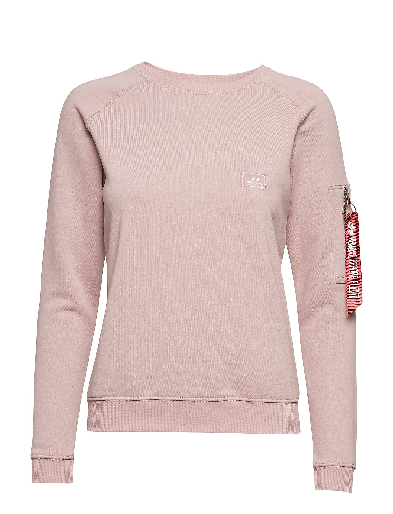 Alpha Industries X-Fit Sweat Wmn - SILVER PINK