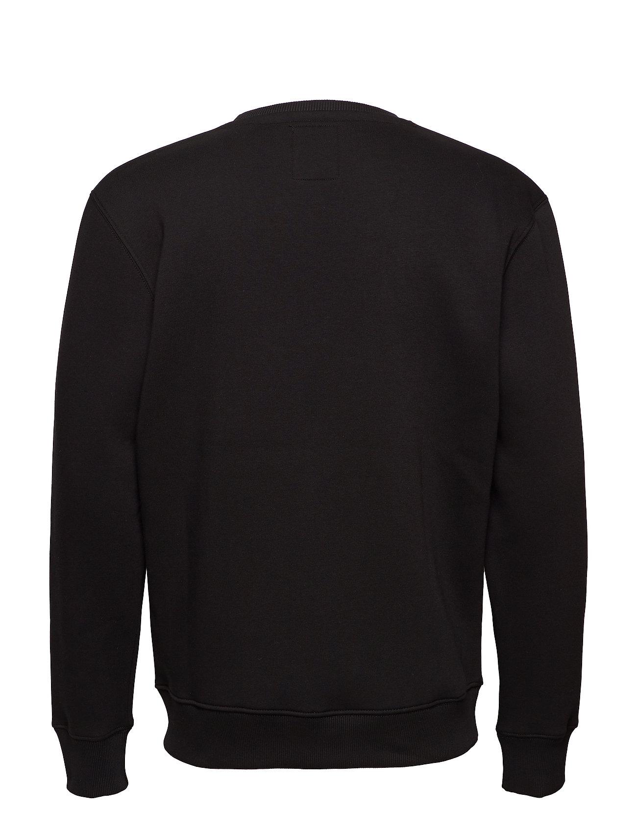 Alpha Industries - Basic Sweater - yläosat - black - 1
