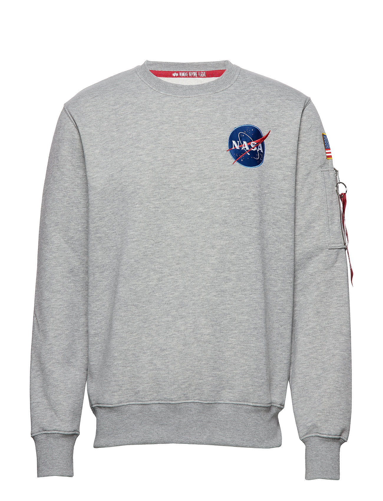 Alpha Industries Space Shuttle Sweater - GREY HEATHER