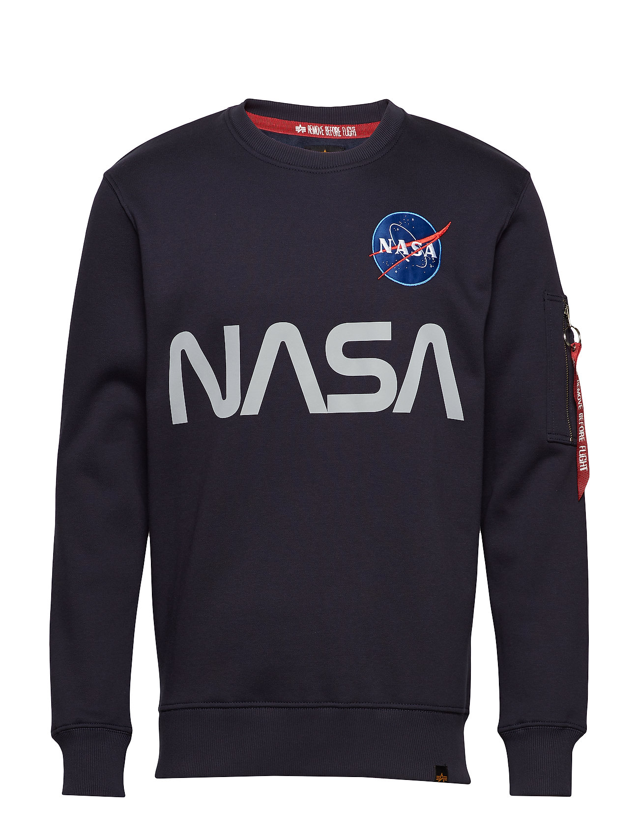 Alpha Industries NASA Reflective Sweater Ögrönlar