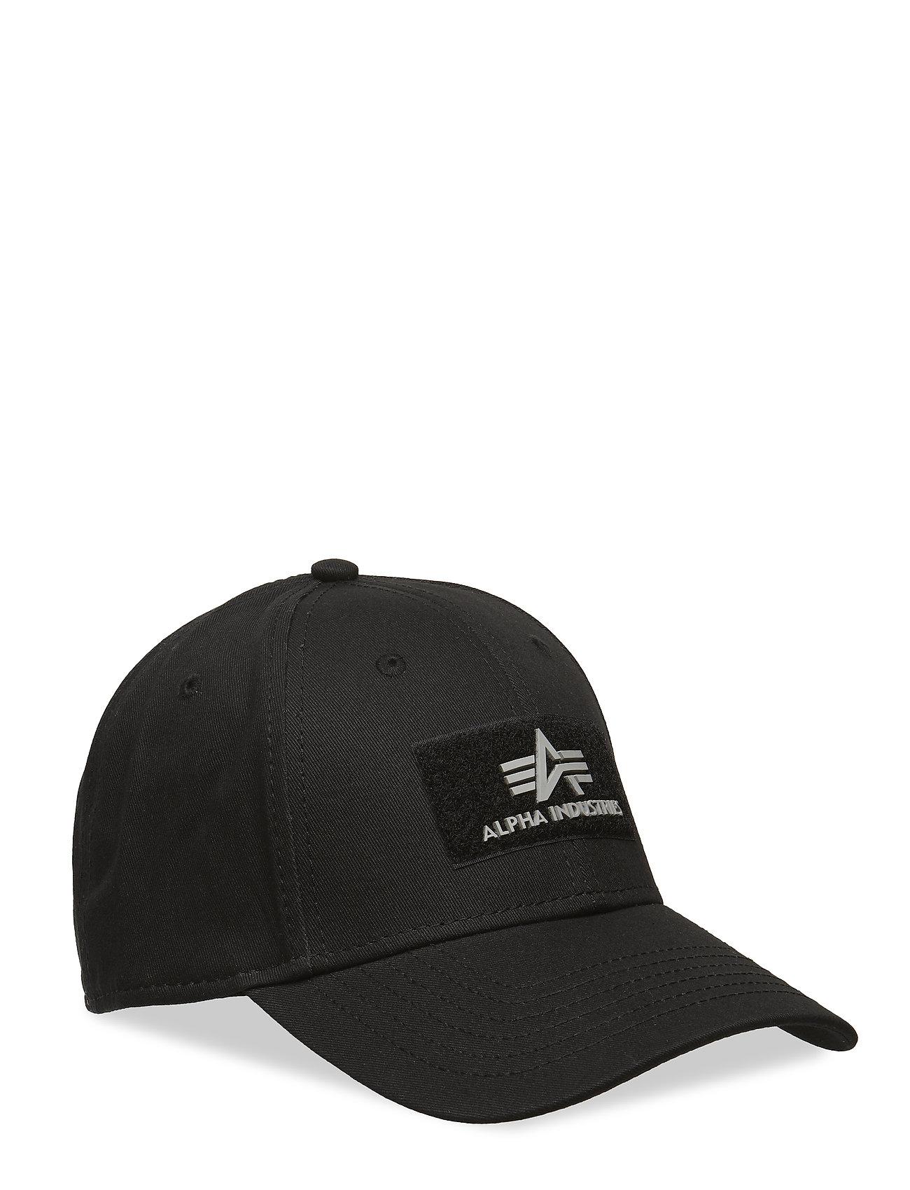 Alpha Industries Kasket Vlc Ii Sort One Size Mænd Accessories   Hats    Kasketter På.. bbb86dbb9f81