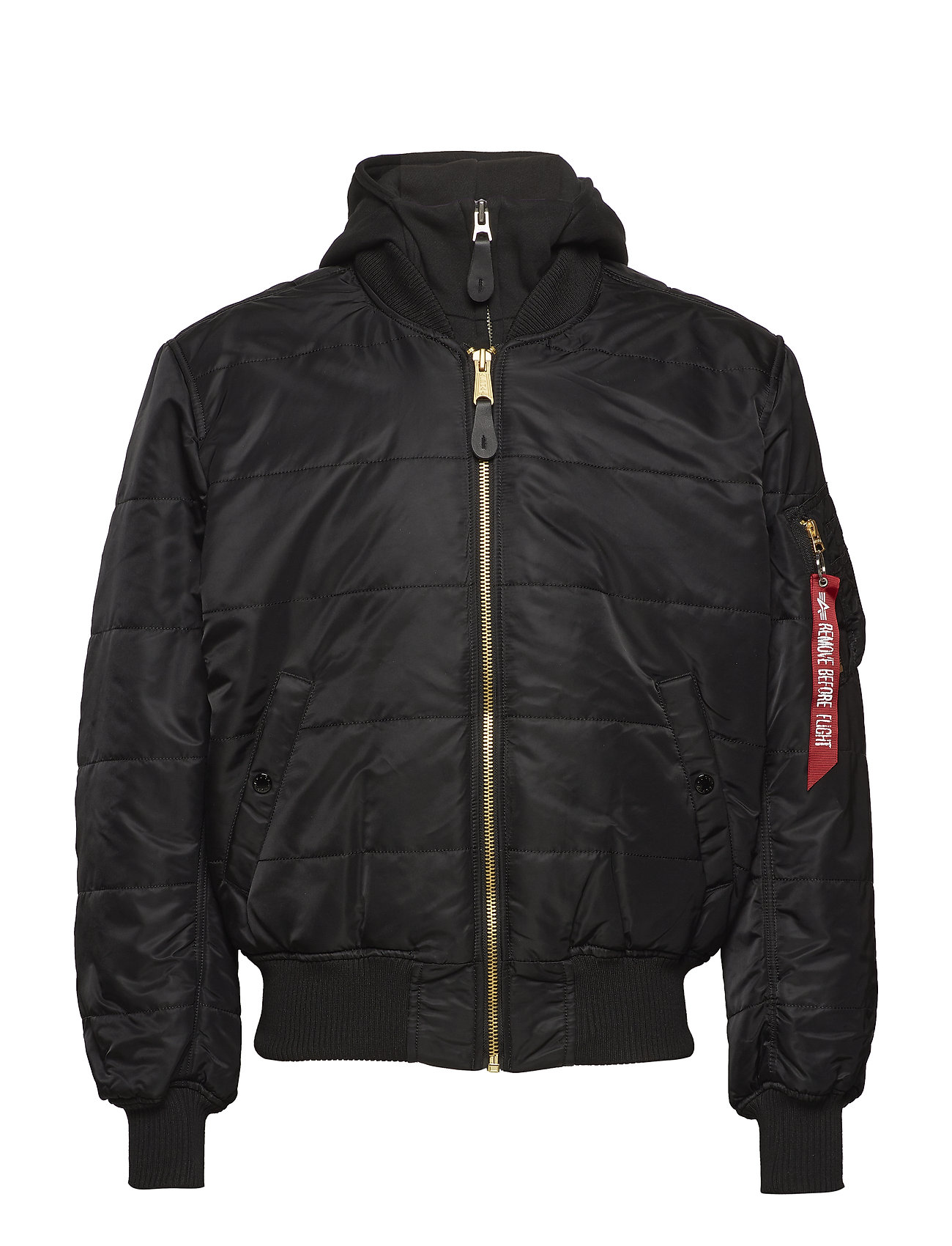 Alpha Industries MA-1 D-Tec Puffer OS - BLACK