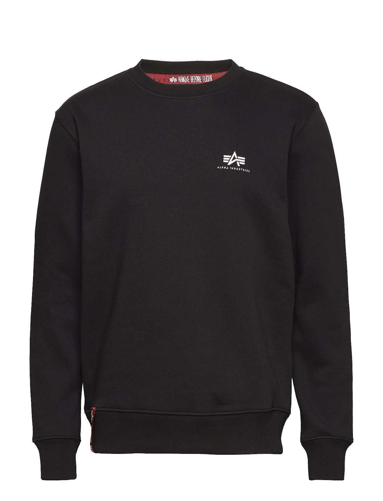 Alpha Industries Basic Sweater Small Logo - BLACK