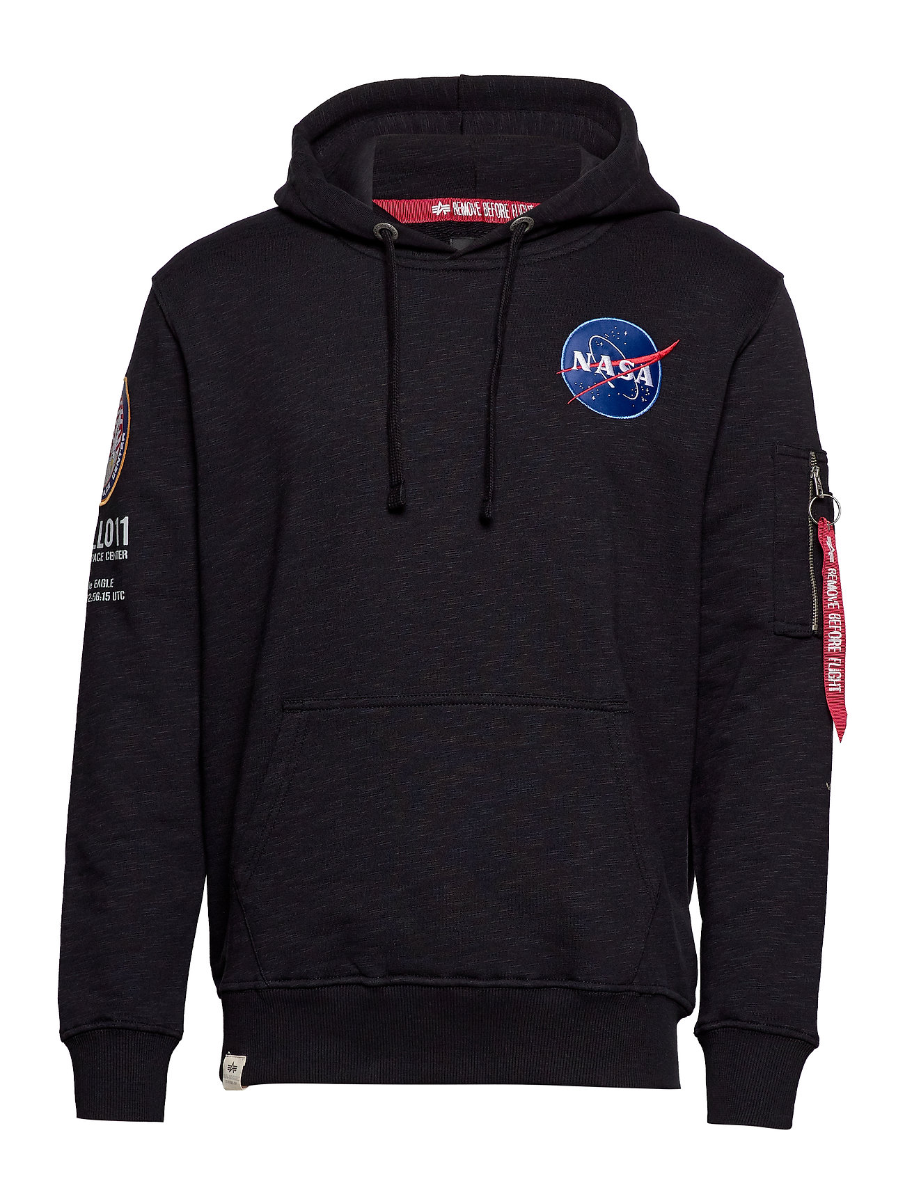 Alpha Industries Apollo 11 Hoody - BLACK
