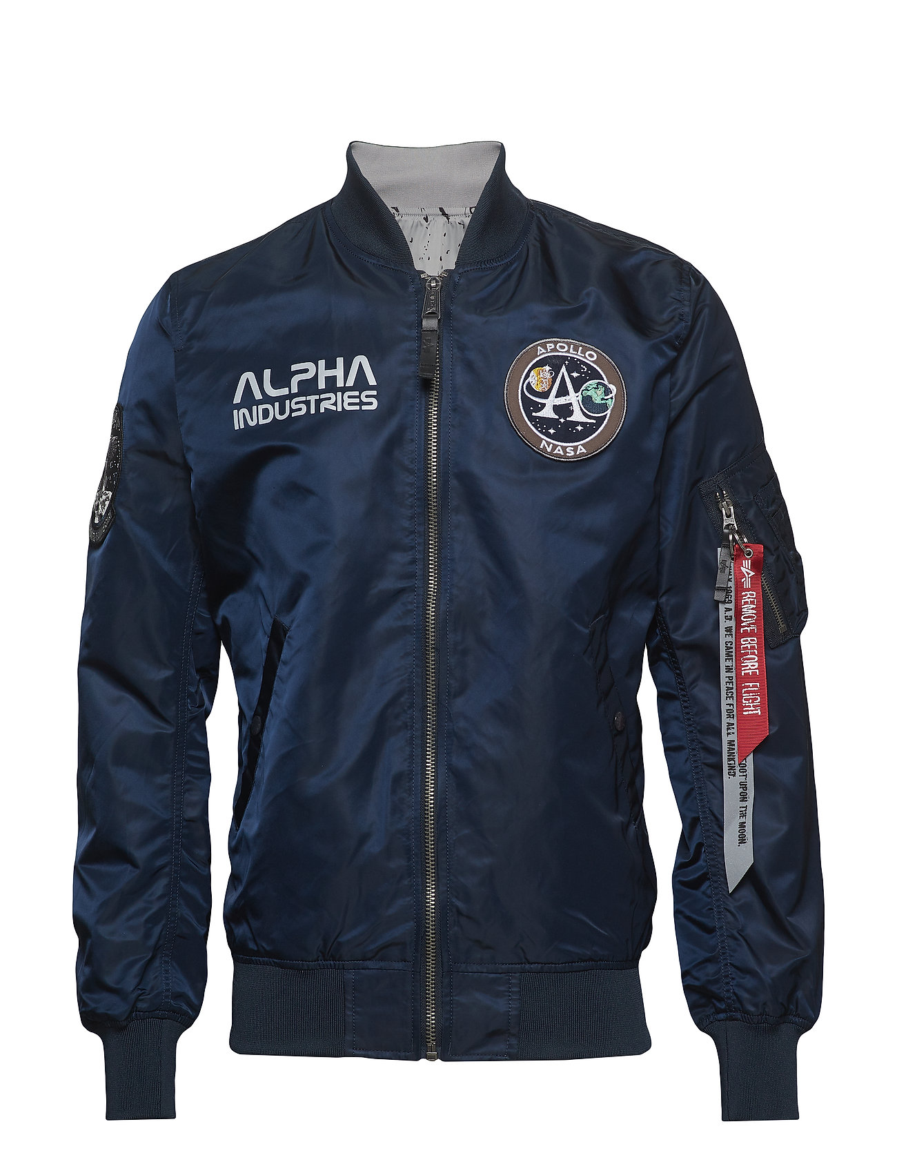 Alpha Industries Ma-1 Moon Landing Rev - REP.BLUE