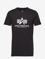 Alpha Industries - Basic T-Shirt - lyhythihaiset - black - 0