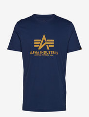 Alpha Industries - Basic T-Shirt - lyhythihaiset - new navy - 0