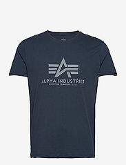 Alpha Industries - Basic T-Shirt - lyhythihaiset - rep.blue - 0