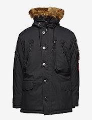 Alpha Industries - Polar Jacket - parkatakit - black - 1