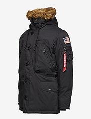 Alpha Industries - Polar Jacket - parkatakit - black - 3