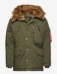 Alpha Industries - Polar Jacket - parkatakit - dark green - 0