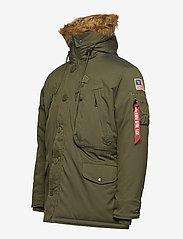 Alpha Industries - Polar Jacket - parkatakit - dark green - 2