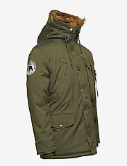 Alpha Industries - Polar Jacket - parkatakit - dark green - 3