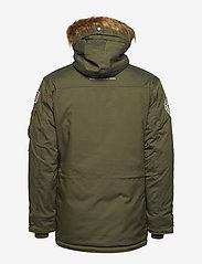Alpha Industries - Polar Jacket - parkatakit - dark green - 4