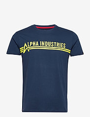 Alpha Industries - Alpha Industries T - lyhythihaiset - new navy - 0