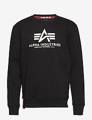 Alpha Industries - Basic Sweater - yläosat - black - 0