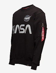 Alpha Industries - NASA Reflective Sweater - yläosat - black - 2
