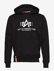 Alpha Industries - Basic Hoody - hupparit - black - 0