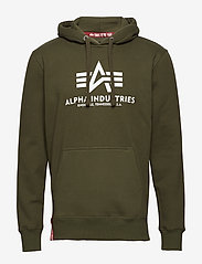 Alpha Industries - Basic Hoody - hupparit - dark green - 0