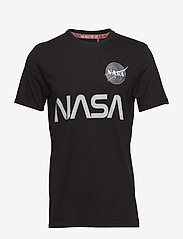 Alpha Industries - NASA Reflective T - lyhythihaiset - black - 0