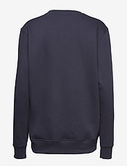 Alpha Industries - Basic Sweater Small Logo - perus-college-paitoja - rep.blue - 1