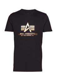 Basic T-Shirt - BLACK/GOLD