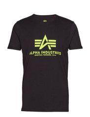 Basic T-Shirt - BLACK/NEON YELLOW