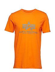 Basic T-Shirt - FLAME ORANGE