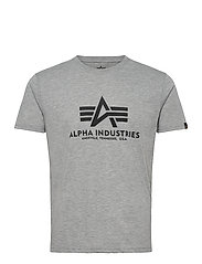 Basic T-Shirt - GREY HEATHER