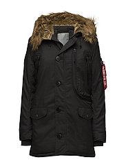 Polar Jacket Wmn - BLACK