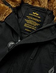 Alpha Industries - Polar Jacket - parkatakit - black - 4
