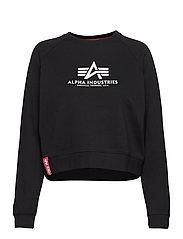 Basic Boxy Sweater Wmn - BLACK