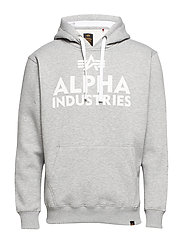 Foam Print Hoody - GREY HEATHER
