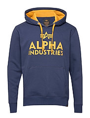 Foam Print Hoody - NEW NAVY