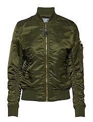 MA-1 VF LW Wmn - DARK GREEN