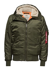 MA-1 Hooded - DARK GREEN