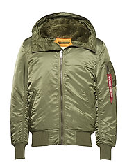 MA-1 Hooded - SAGE-GREEN